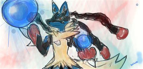 Lucario Mega Evolution By Roblee96 On Deviantart