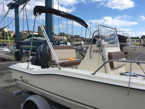 Scout Boats Wisconsin by 2003 Used Scout Boats 175 Sportfish Center Console Fishing