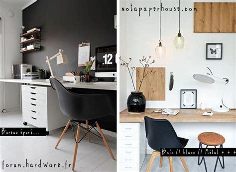 design bureau de travail aménager un coin bureau tendance et fonctionnel dans la