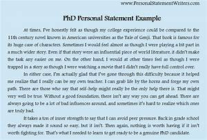 Write a personal statement online