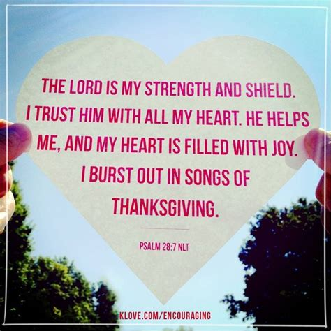 god is my comfort psalm 28 7 comfort for the broken hearted
