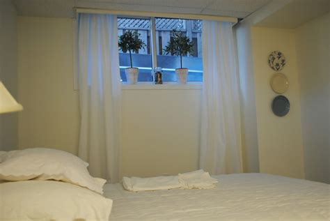 basement window curtains will help you to get a new look