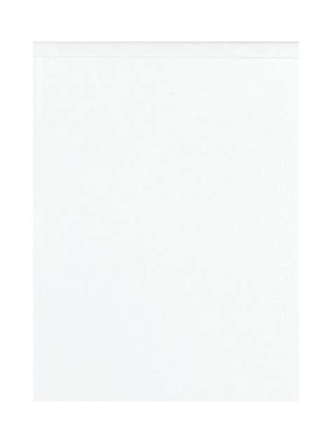 Remo Gloss White 800mm Wall Bridging Unit - 360mm High