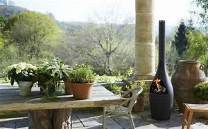 Cheminee Exterieur Bois : chemin e d 39 ext rieur moderne 42 mod les tendance ~ Premium-room.com Idées de Décoration