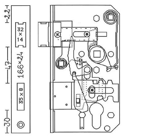 interieur d une serrure plans de serrures 224 souder