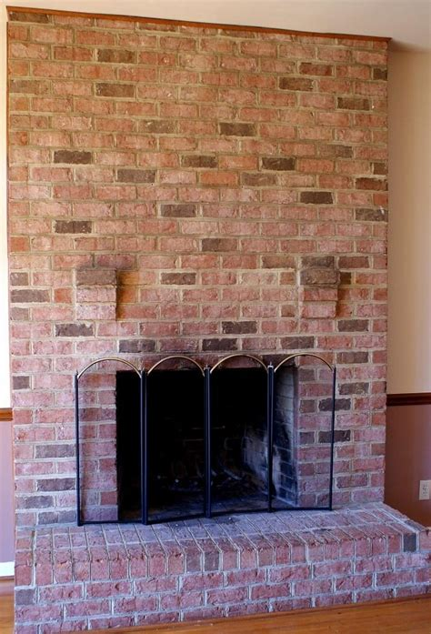 rustic brick fireplaces