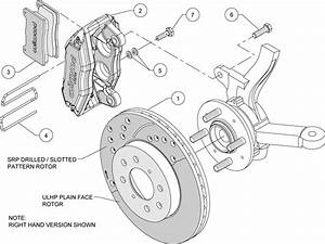 Wilwood Disc Brake Kit Front Stock Replacement Honda