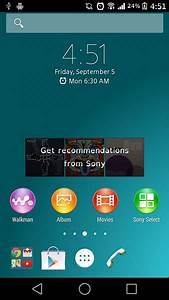 Download Xperia Z3 Launcher and Weather Widget