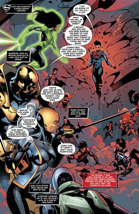 Superboy Dc Comics New 52 Issue 34 Complex