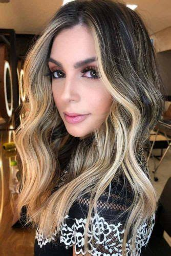 How To Get And Sport Black Hair With Highlights In 2019