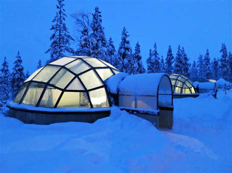 northern lights igloo finland travelogue 4 kakslauttanen hotel igloo