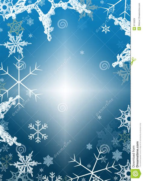 holiday winter background snowflakes stock illustration