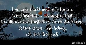 Süße Gute Nacht Sprüche : gute nacht mein schatz bilder spr che zur nacht f r deinen schatz ~ Frokenaadalensverden.com Haus und Dekorationen
