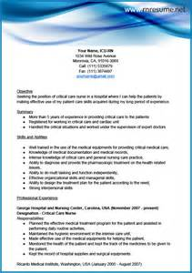 professional resume format for nurses professional icu rn resume sle rn resume
