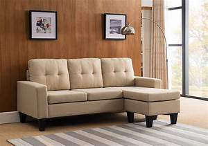 beige linen reversible sofa sectional With beige linen sectional sofa