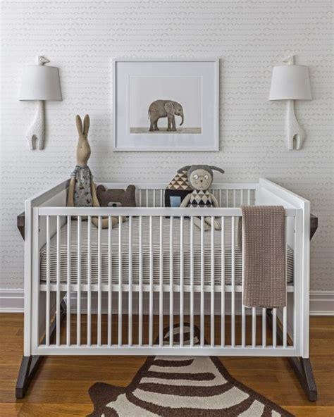 Kinderzimmer Junge Modern by All White Modern Baby Boy S Nursery Design To Get Inspired