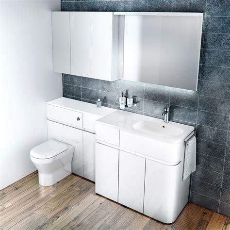Bathroom Furniture by Aqua Cabinets D450 Fitted Bathroom Furniture Uk