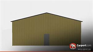 metal building with vertical siding and roof 4039 x 60 With 40 by 60 metal building