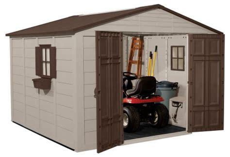 10 x 10 resin shed 10x10 suncast storage shed review zacs garden