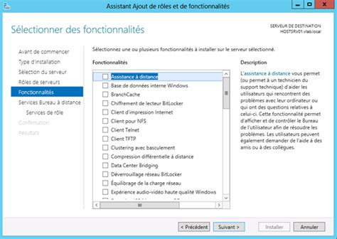 bureau à distance windows server 2012 windows server 2012 installation du rôle de