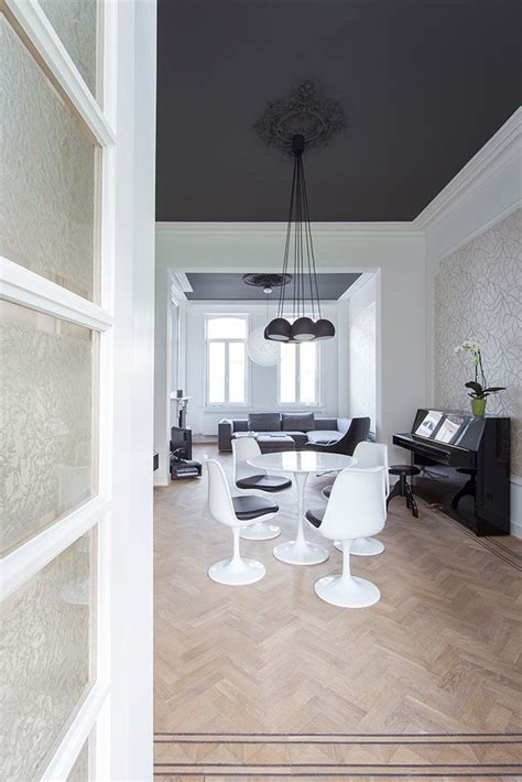 image result for dark ceiling light walls decor and