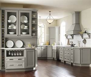 gray kitchen cabinets homecrest cabinetry With kitchen colors with white cabinets with bathroom metal wall art