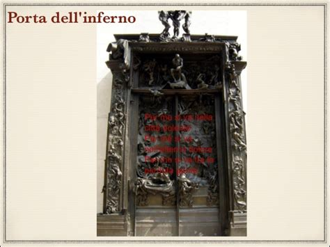 Porta Dell Inferno Dante by Dante In 2as