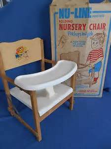Old Fashioned Chair by Vintage Compacto Folding Rubber Fountain Syringe