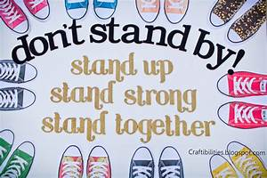 OCTOBER Anti-Bullying Campaign - POSTER IDEAS - DIY ...