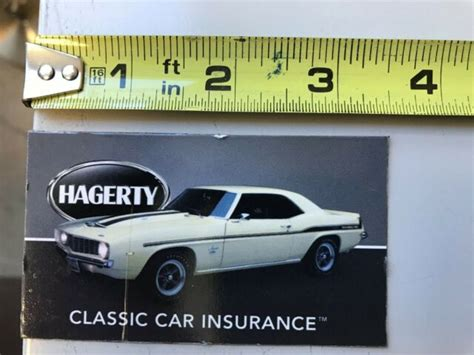 Последние твиты от hagerty classic car insurance (@germancarexpert). Hagerty Magnets Collector Car Insurance Magnet - Chevrolet Camaro. Used   eBay