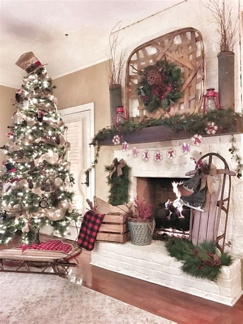 ideas  farmhouse christmas decor
