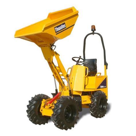 high lift dumper  ton thwaites mach mark  hire