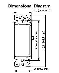 Illuminated Wall Switch Wiring Diagram by Leviton Decora Switches Illuminated Light Switches