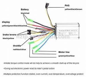 Electric Bike Motor Controller 36v