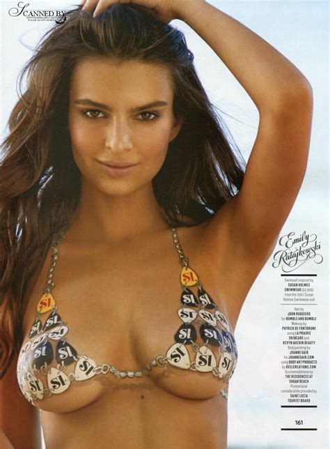 Emily Ratajkowski Sports Illustrated 2014 - Body Paint ...