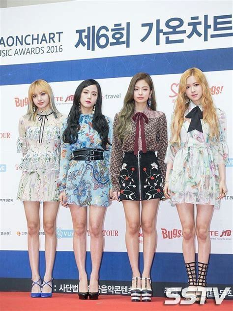 [foto]blackpink No Red Carpet  Gaon Chart Awards