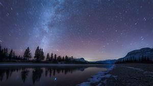 Beautiful, Starry, Sky, During, Nighttime, 4k, Hd, Nature