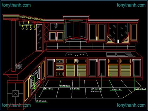 kitchen cabinet cad http www tonythanh interiors autocad drawing block 2386