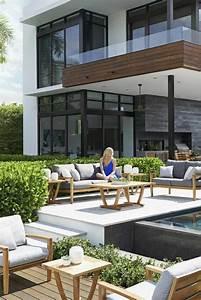 Salon De Jardin Terrasse : id e jardin et terrasse cr er un salon de jardin convivial ~ Teatrodelosmanantiales.com Idées de Décoration
