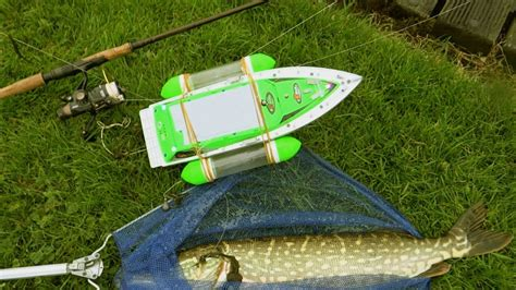 Rc Boats Catching Fish by Pike Vs Rc Boat Epic Battle Catching My Fish With
