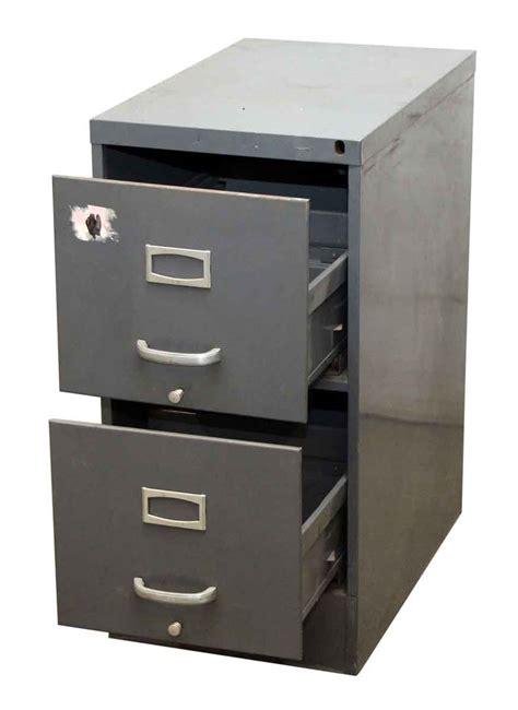 metal filing cabinet gray metal filing cabinet olde things