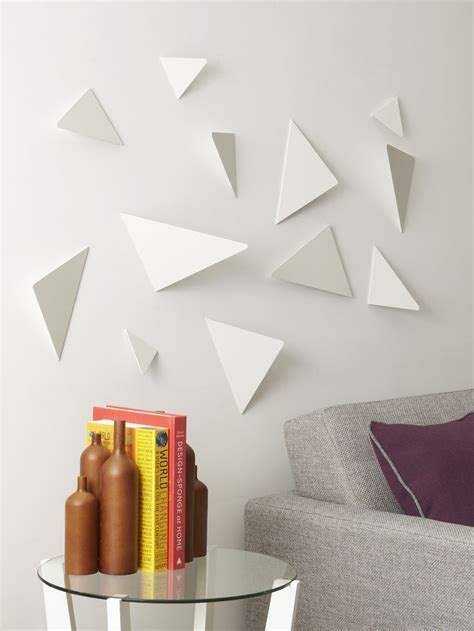 decor white walls facetta quickly quot upgrades quot your plain white walls and adds geometry texture and depth randomly