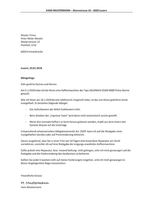 Maengelruege Und Maengelbeseitigung by 14 M 228 Ngelr 252 Ge Schreiben Shade And Eggs