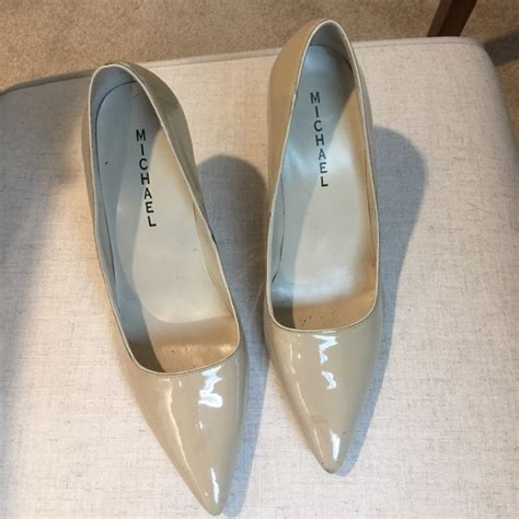 taupe color heels michael michael kors taupe color high heel pumps by