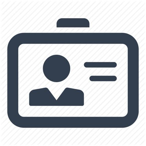 id badge icon images id  tag template id card