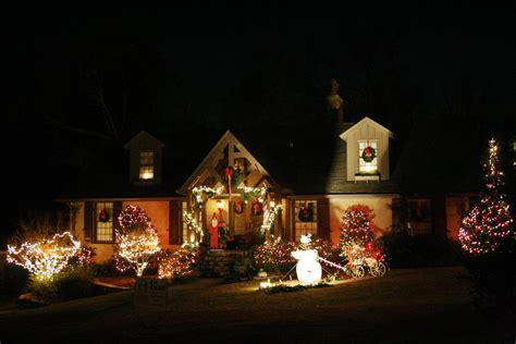 white and colored christmas lights christmas decore