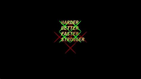 Daft Punk - Harder Better Faster Stronger dnb remix - YouTube