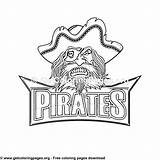 Coloring Pirates Getcoloringpages Logos sketch template