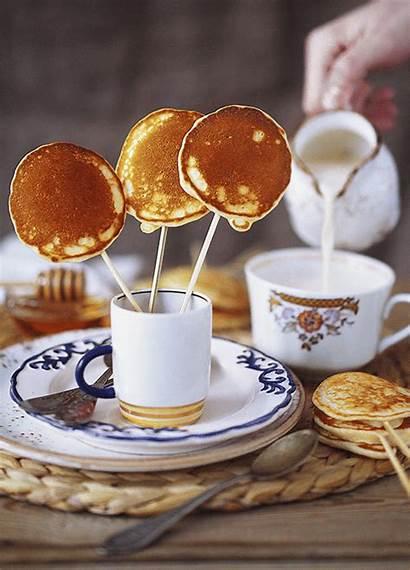Pancakes Breakfast American Kitchen Healthy Brunch Theme