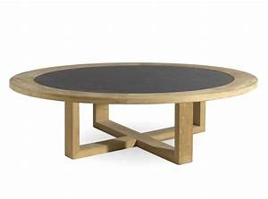 low round teak garden side table siena collection by manutti With low round outdoor coffee table